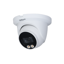 Load image into Gallery viewer, Dahua 4MP Full-color Warm LED Fixed-focal Eyeball WizSense Network Camera - CCTVMasters.com.au