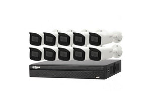 Dahua Camera, 10 x 8MP Bullet Camera Motorized Kit with 16CH NVR+ 3TB HDD - CCTVMasters.com.au