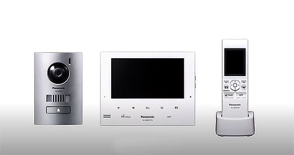 Panasonic VL-SWD275AZ Highly Expandable Intercom Kit - WHITE