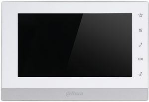 DHI-VTH1550CHW-2, Dahua 7inch Touch Screen 2 Wire IP Indoor Monitor
