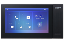 Load image into Gallery viewer, KIT-DHI-7INBLK3211D-P Dahua 7inch Touch Screen IP Intercom Kit