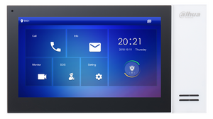 Dahua DHI-VTH2421FW-P 7inch Touch Screen IP Indoor Monitor - CCTVMASTERS.COM.AU