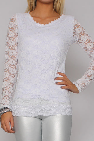 Lace Deluxe White