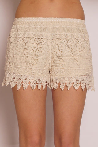 New Lace Shorts