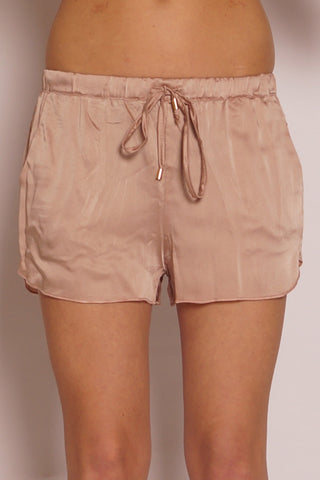 Beach Satin Shorts