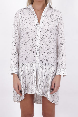 Dot Peplum Dress