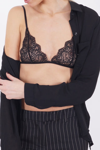 OPAL Lace Bra - Sort