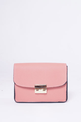 LARA Leather Bag - Koral