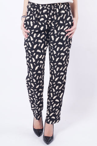 PIPIN Pants - Black/Creme