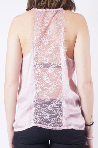 OPHELIA Lace Top - Rosa