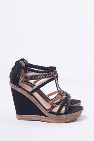 SANSA Wedges - Sort