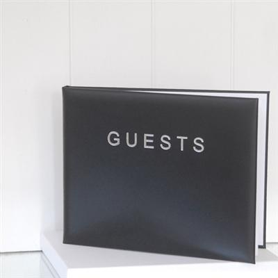 Office & Stationery > Diaries & Books > Guest book > Large Black Guest Book