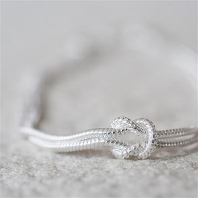 Tying The Knot Bracelet