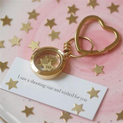 Shooting Star Keyring