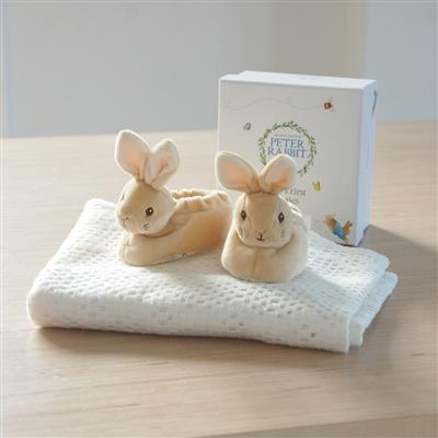 Gifts for Babies > Baby > Baby Gifts > Baby Booties > Peter Rabbit Baby Booties