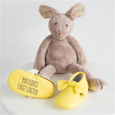 Personalised 'First Easter' Booties