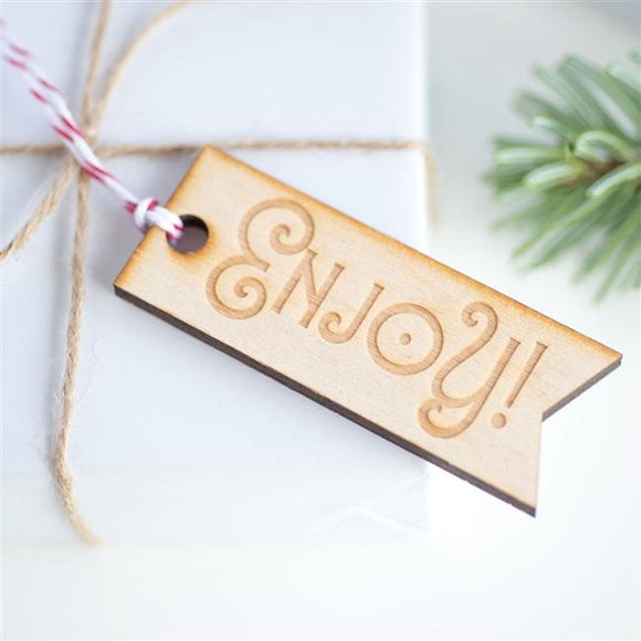 Enjoy Gift Tag - 10pk