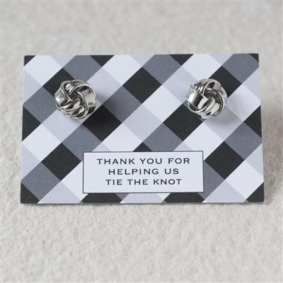 'Tying The Knot' Thank You Cufflinks