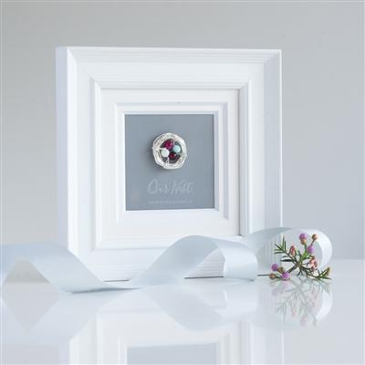 'Our Nest' Birthstone Frame