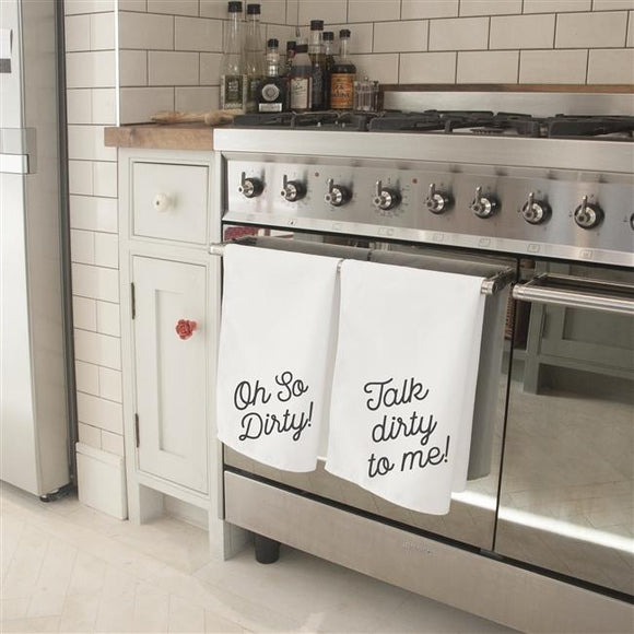 Naughty Tea Towel Set