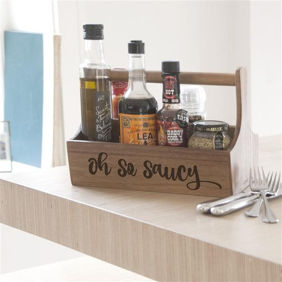 Kitchen > Tableware > Condiments > Oh So Saucy Condiment Holder