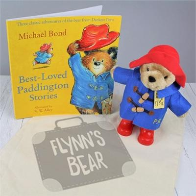 Personalised Paddington Soft Toy & Book