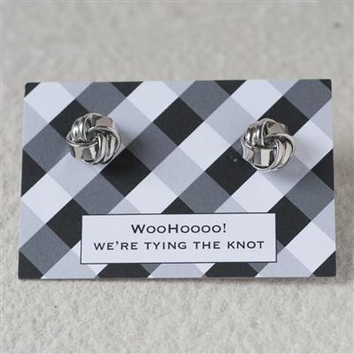 WooHoooo! We're Tying The Knot Cufflinks