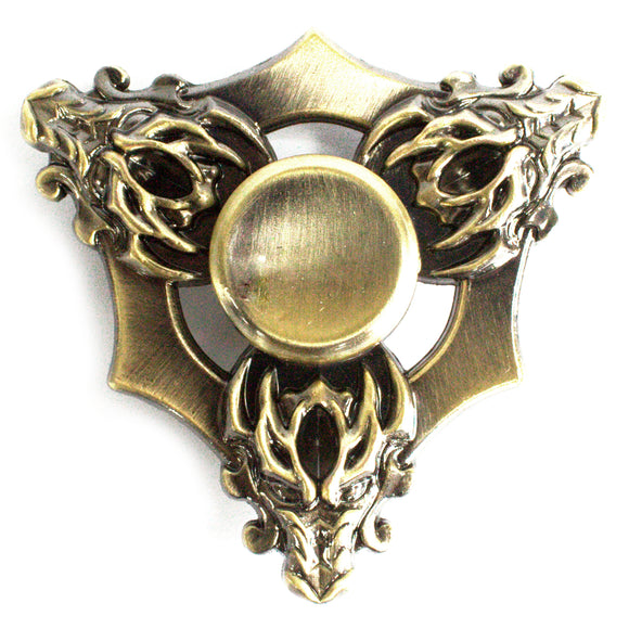 Gifts > Gifts for Children > Metal Fidget Spinner - Three Dragons - Bronze