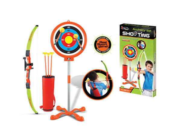 Gifts > Gifts for Children > Childrens Toy Archery Set With Bow and Arrow Target