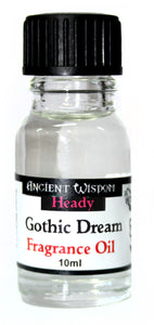 Health & Beauty > Skin Care > Lotions & Potions & Sprays > Gothic Dream 10ml Fragrance Oil
