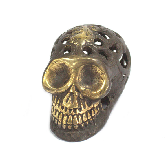 Gifts > Gifts For Her > Vintage Brass Skull - Small