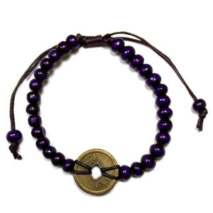 Gifts > Gifts For Her > Good Luck Feng Shui Bracelet - Purple