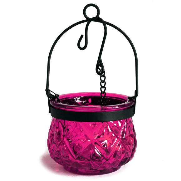 Gifts > Gifts For Her > Moroccan Style Hanging Candle Lantern - Violet