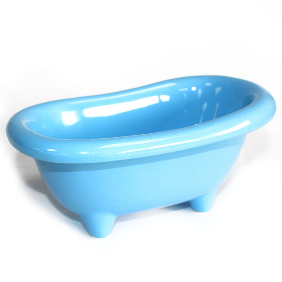 Health & Beauty > Bath > Foot Baths > Ceramic Mini Bath - Baby Blue