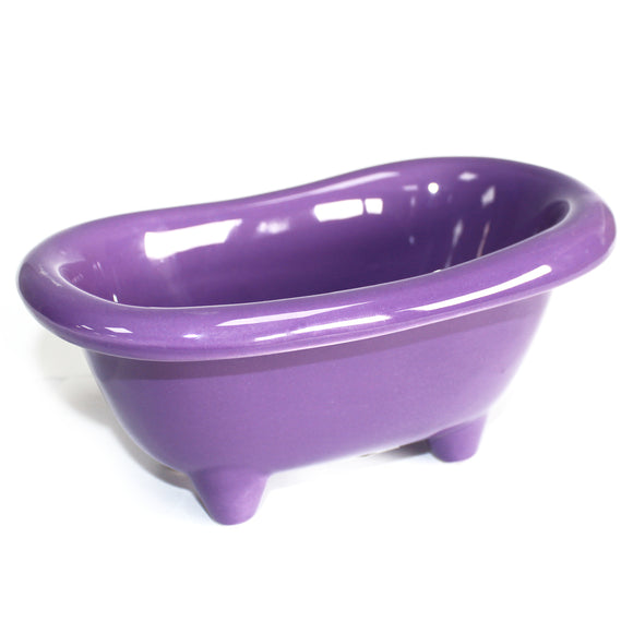 Health & Beauty > Bath > Foot Baths > Ceramic Mini Bath - Lavender
