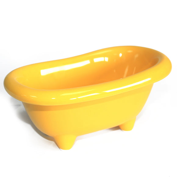 Health & Beauty > Bath > Foot Baths > Ceramic Mini Bath - Lemon