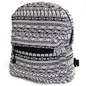 Fashion Accessories > Bags & Backpacks > Backpacks > Undersized Backpack - Black Jazz