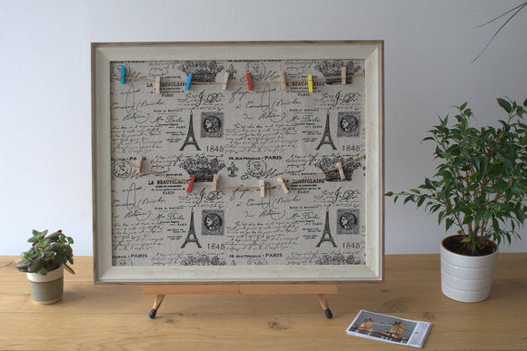 Home > Photos & Paintings > Photo Frames > Lrg DIY Peg Photo Frames (50x60cm) - Paris