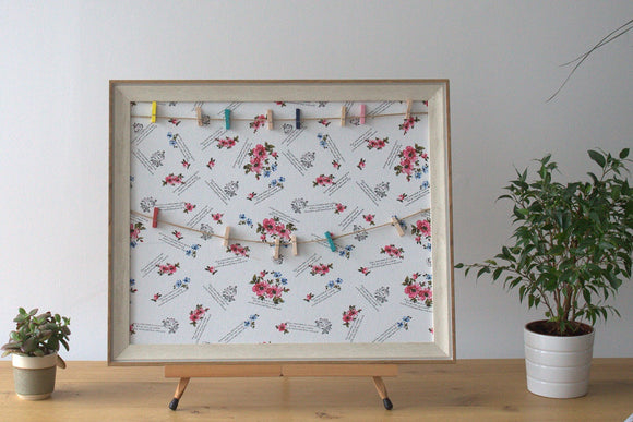 Home > Photos & Paintings > Photo Frames > Lrg DIY Peg Photo Frames (50x60cm) - Floral