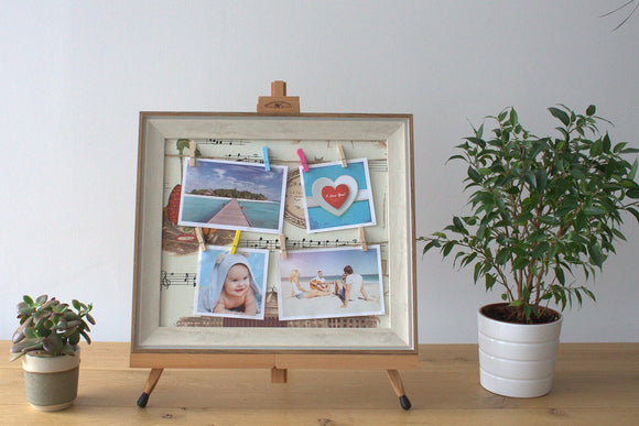 Home > Photos & Paintings > Photo Frames > Small DIY Peg Photo Frames (30x40cm)- Mozart