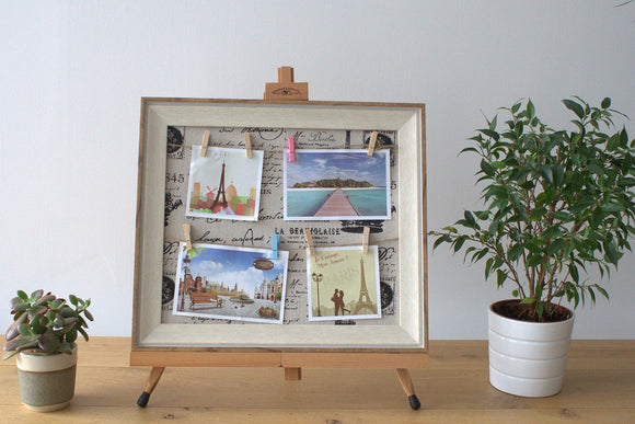 Home > Photos & Paintings > Photo Frames > Small DIY Peg Photo Frames (30x40cm)- Paris