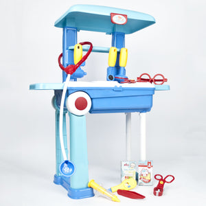 Kids Doctor Toy Trolley Play Set