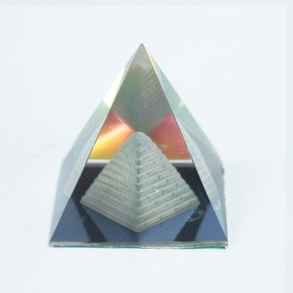 Home > Home Décor > Pyramids > Double Pyramid 50 mm