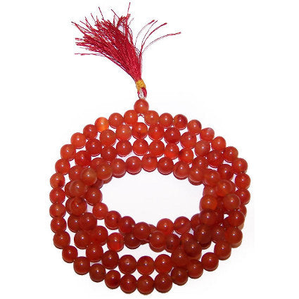 Gifts > Gifts For Her > Mala Beads - Carnelian