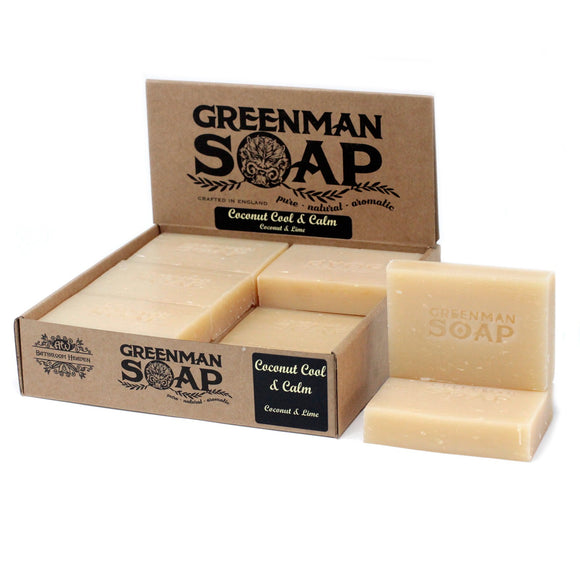Gifts > Gifts For Her > Greenman Soap 100g - Coconut Cool & Calm