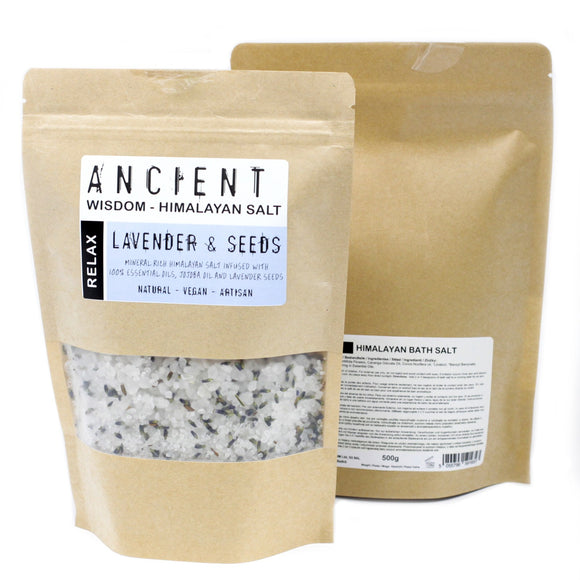 Health & Beauty > Bath > Bath Salts > Himalayan Bath Salt Blend 500g - Relax