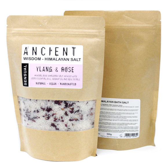 Health & Beauty > Bath > Bath Salts > Himalayan Bath Salt Blend 500g - Sensual