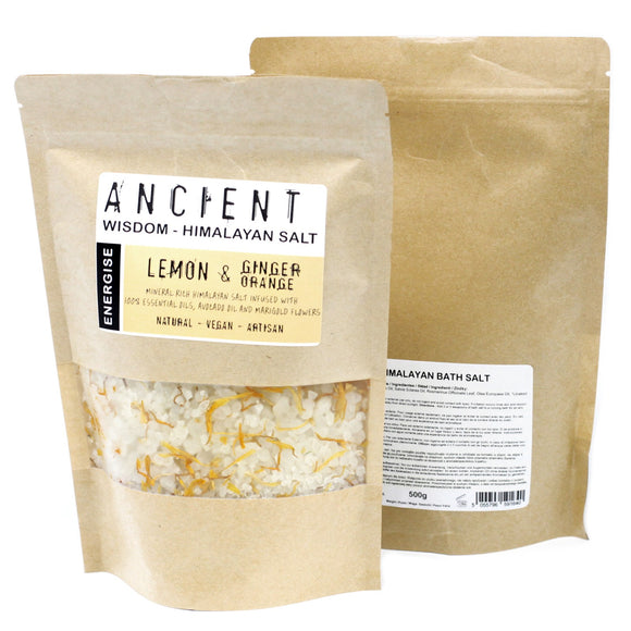 Health & Beauty > Bath > Bath Salts > Himalayan Bath Salt Blend 500g - Energise