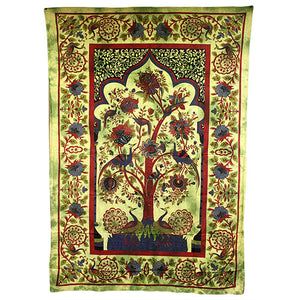 Home > Photos & Paintings > Wall Art > Tree of Life - Green Bedspread / Wall Art