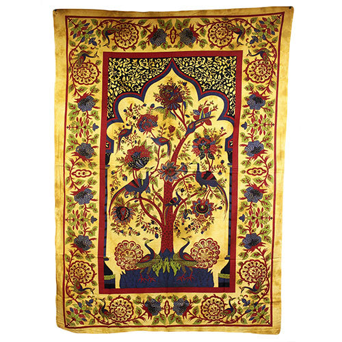 Home > Photos & Paintings > Wall Art > Tree of Life - Brown Bedspread / Wall Art
